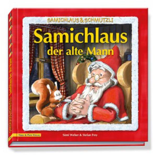 Samichlaus der alte Mann - Buch - Coverbild