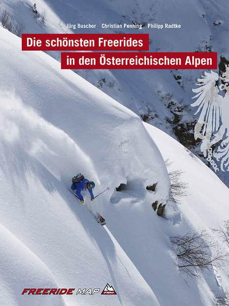 Die schönsten Freerides in den Österreichischen Alpen - Coverbild