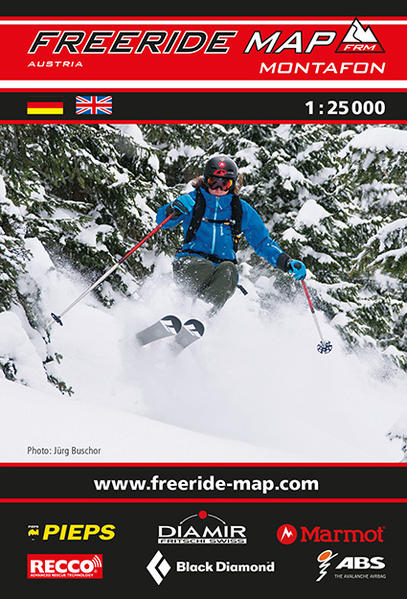 Freeride Map Montafon - Coverbild