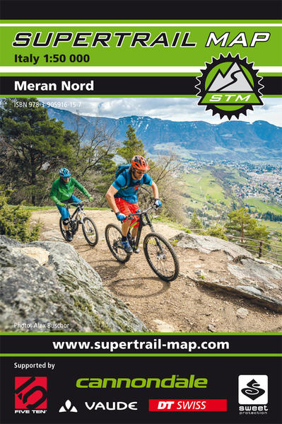 Supertrail Map Meran Nord - Coverbild