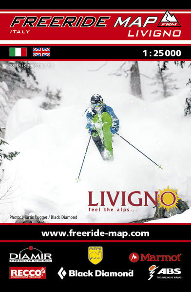 Freeride Map Livigno - Coverbild