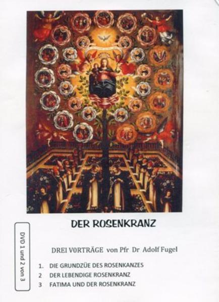 Der Rosenkranz. Drei live-Vorträge - Coverbild