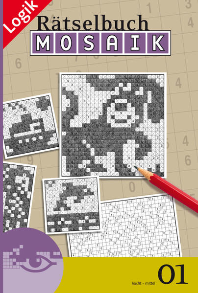 Mosaik-Rätselbuch 01 - Coverbild