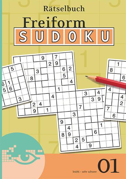 Freiform-Sudoku Rätselbuch 01 - Coverbild
