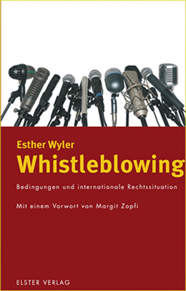 Whistleblowing - Coverbild
