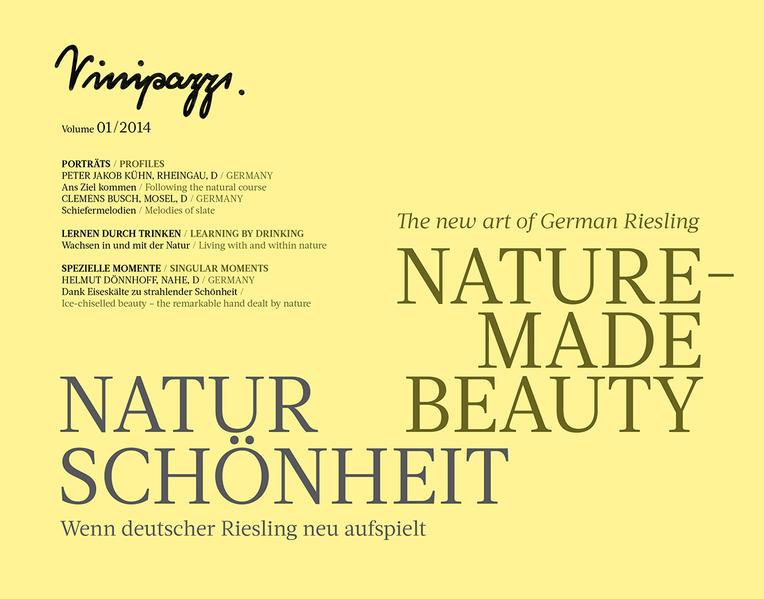 NATURSCHÖNHEIT / NATURE-MADE BEAUTY - Coverbild