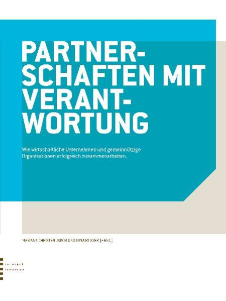 Partnerschaften mit Verantwortung - Coverbild