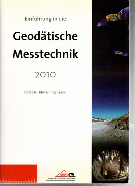 Einführung in die Geodätische Messtechnik 2010 - Coverbild