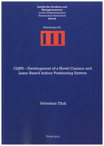 CLIPS – Development of a Novel Camera and Laser-Based Indoor Positioning System - Coverbild