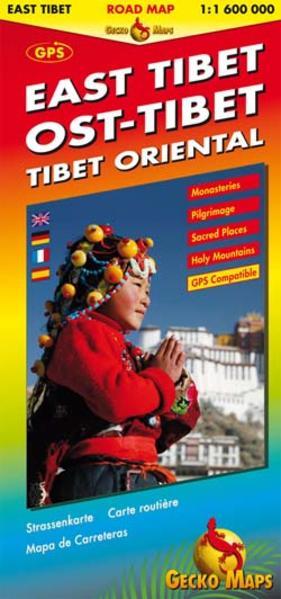 Ost-Tibet Strassenkarte 1:1 600 000 - Coverbild