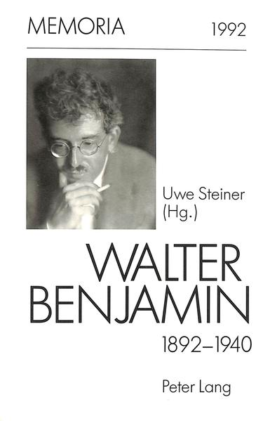 Walter Benjamin 1892-1940- Epub Ebooks Herunterladen