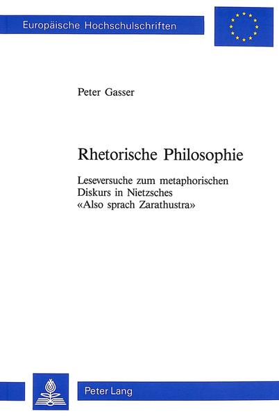 Rhetorische Philosophie - Coverbild