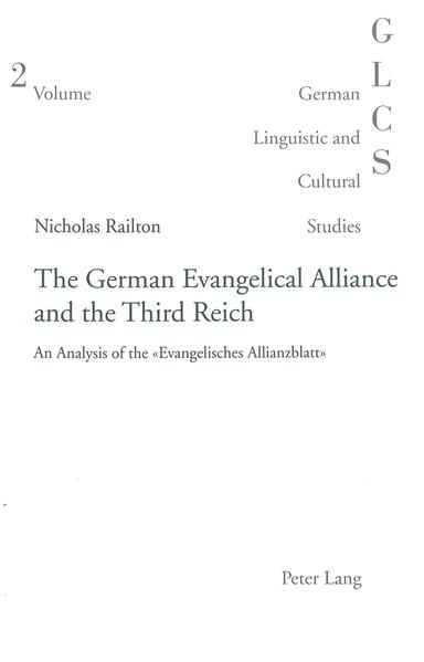 The German Evangelical Alliance and the Third Reich - Coverbild