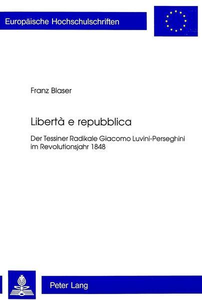Libertà e repubblica - Coverbild