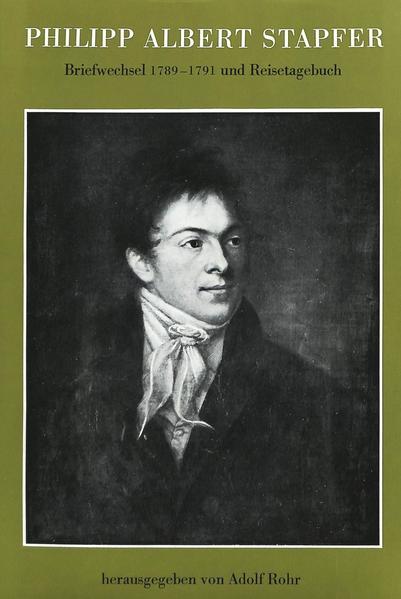 Philipp Albert Stapfer - Coverbild
