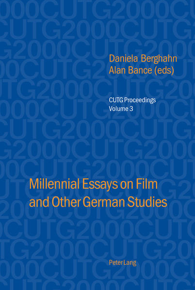 Millennial Essays on Film and Other German Studies - Coverbild