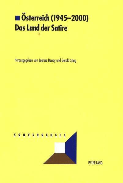 Österreich (1945-2000)- Das Land der Satire - Coverbild