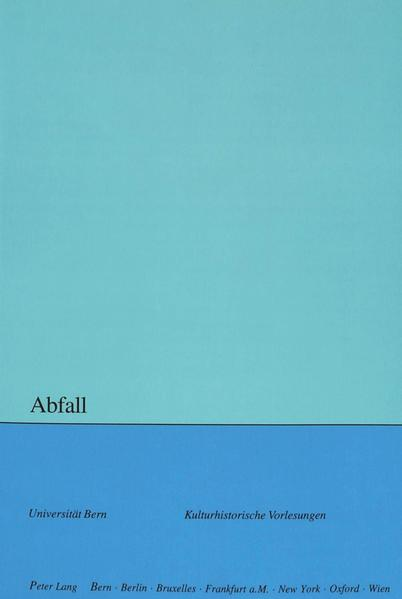 Abfall - Coverbild