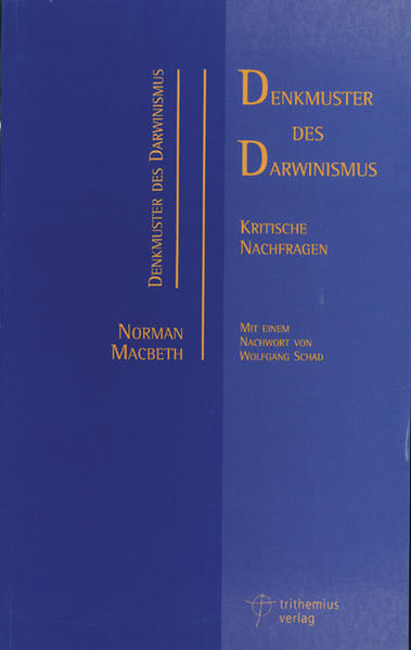 Denkmuster des Darwinismus - Coverbild