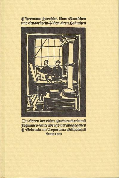 Vom Gautschen und Quadräteln - Coverbild