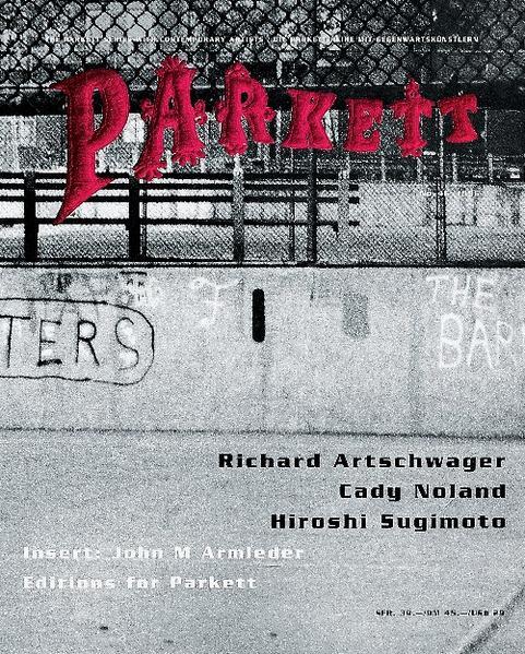 Artschwager, Richard/ Noland, Cady/ Sugimoto, Hiroshi - Coverbild