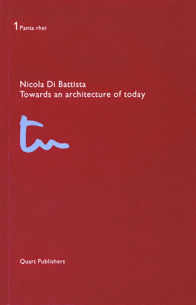 Towards an architecture of today - Coverbild