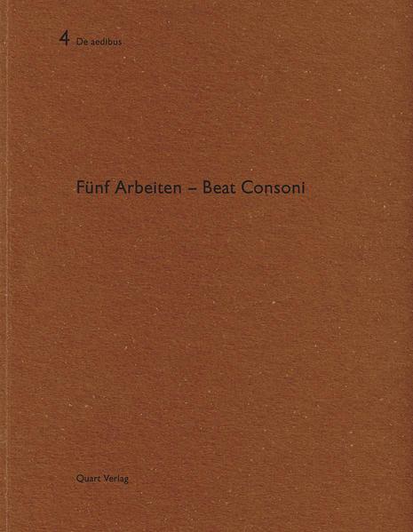 Beat Consoni - Coverbild