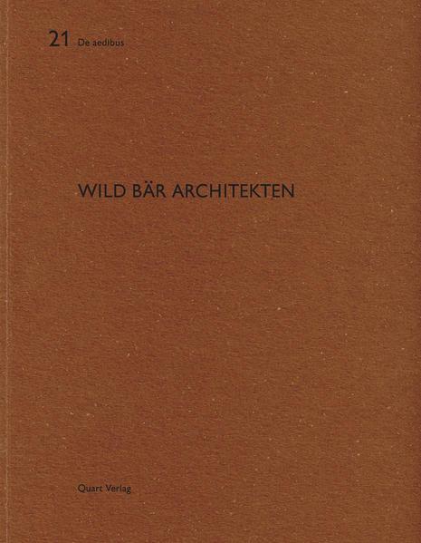 Wild Bär Architekten - Coverbild