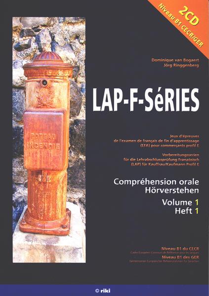 LAP-F-SéRIES Volume 1 - Coverbild