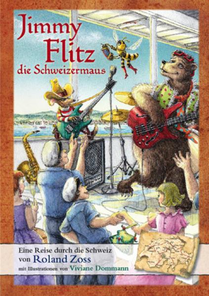 Jimmy Flitz die Schweizermaus - Coverbild