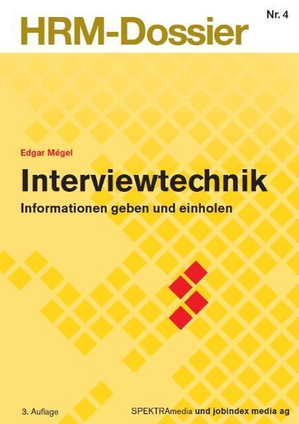 Interviewtechnik - Coverbild