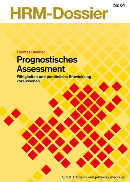 Prognostisches Assessment - Coverbild