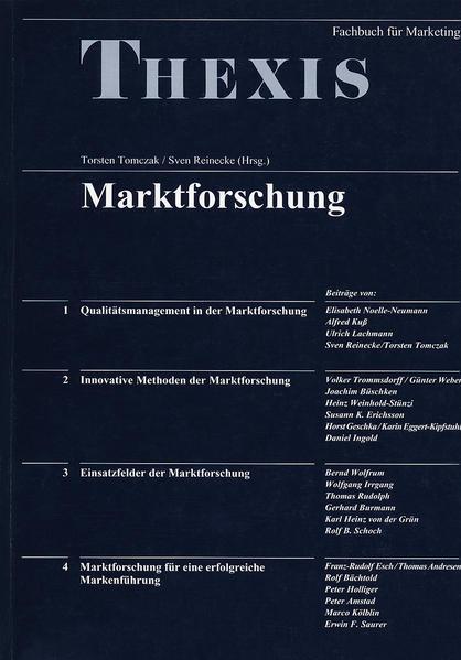 Marktforschung - Coverbild