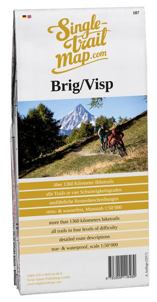 Singletrail Map 034 Brig/Visp  - Coverbild