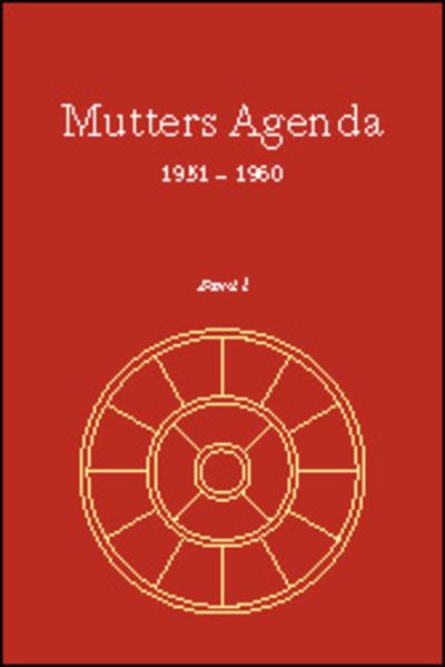 Agenda der Supramentalen Aktion auf der Erde / Mutters Agenda 1951-1960 - Coverbild