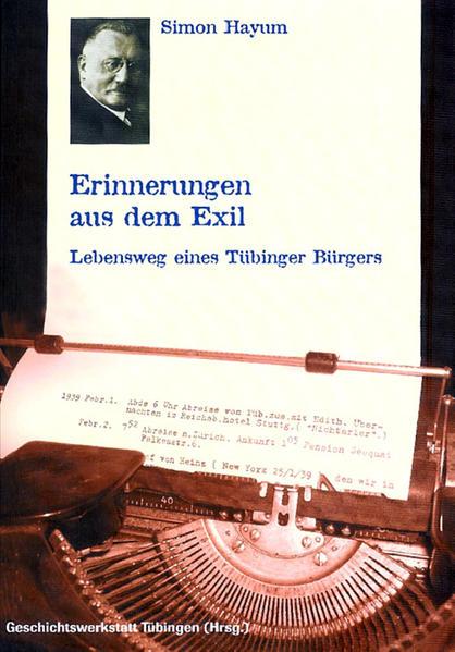 Simon Hayum. Erinnerungen aus dem Exil - Coverbild