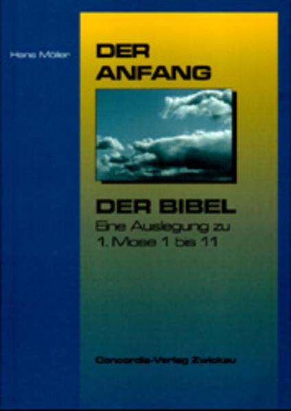 Der Anfang der Bibel - Coverbild