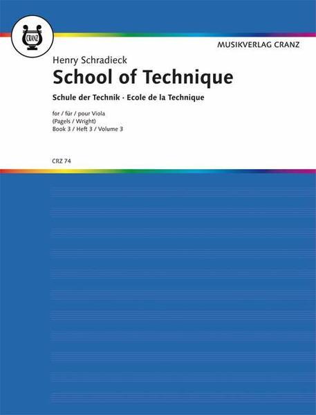 Schule der Violatechnik - Coverbild