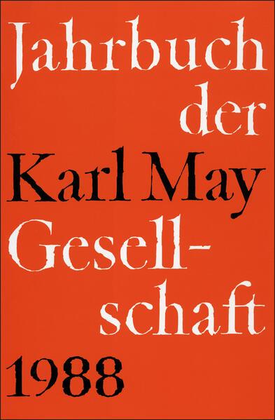 Jahrbuch der Karl-May-Gesellschaft / Jahrbuch der Karl-May-Gesellschaft - Coverbild