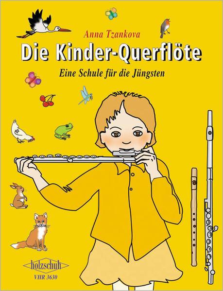 Die Kinder-Querflöte - Coverbild