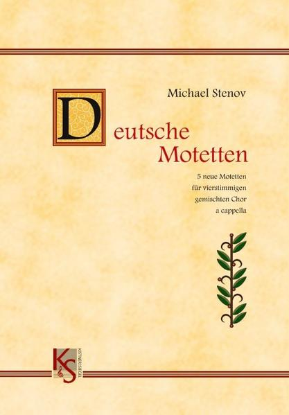 Deutsche Motetten - Coverbild