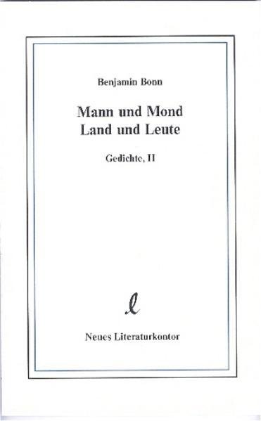 Mann und Mond, Land und Leute - Coverbild