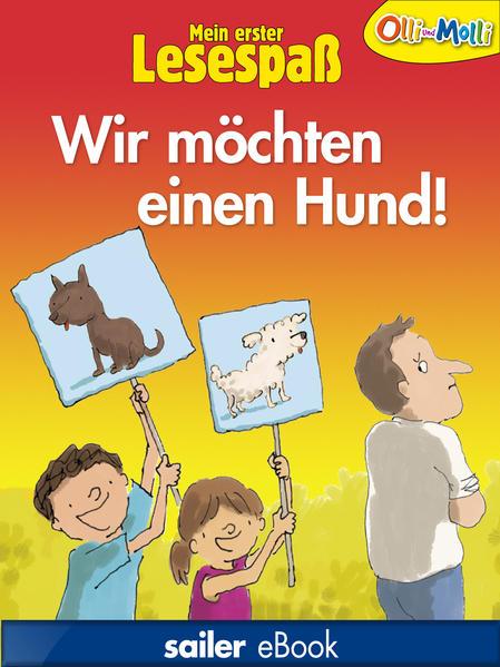 Wir möchten einen Hund! - Coverbild
