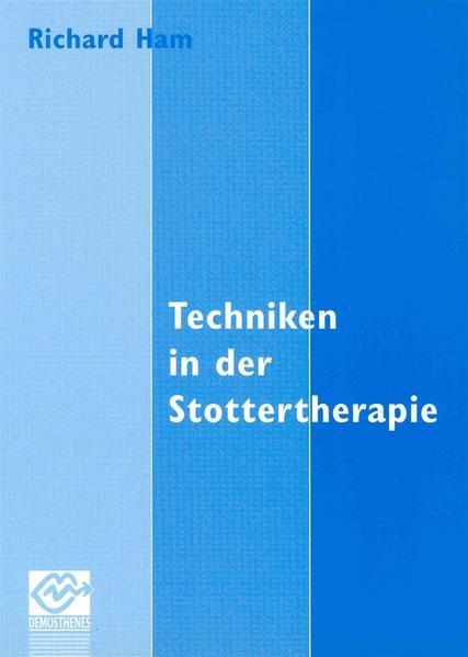 Techniken in der Stottertherapie - Coverbild