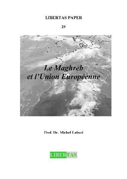 Le Maghreb et l'Union Européenne - Coverbild