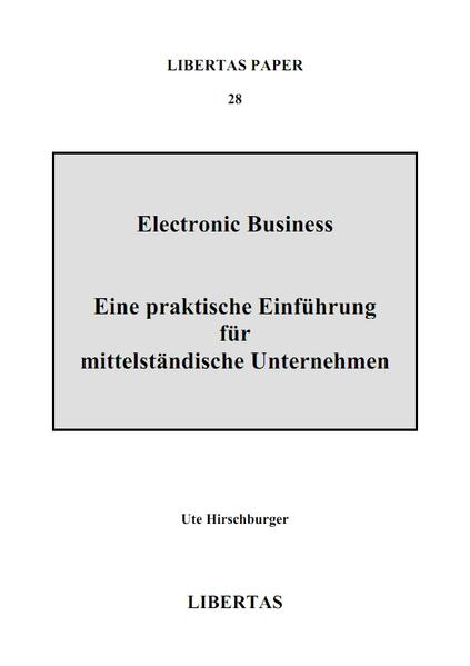 Electronic Business - Coverbild