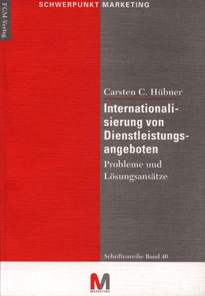 Internationalisierung von Dienstleistungsangeboten - Coverbild