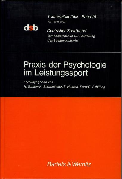 Praxis der Psychologie im Leistungssport - Coverbild