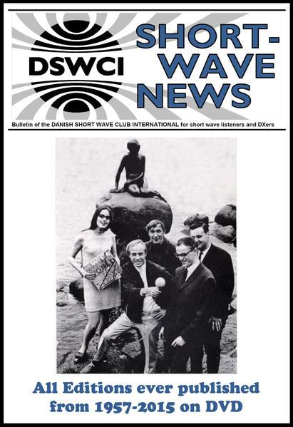 """Shortwave News"" des Dansh Short Wave Club International (DSWCI) 1957-2015  - Coverbild"
