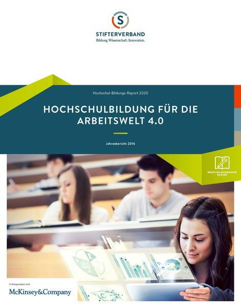 Hochschul-Bildungs-Report 2020 - Coverbild